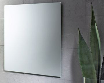 Gedy Rectangular Polished Edge Mirror - 2550